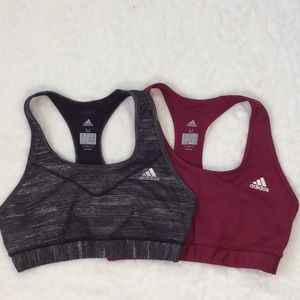 Adidas Climalite Sports Bras-Bundle